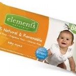 Elements Naturals makes compostable baby wipes with Ingeo