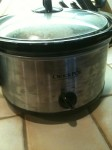 Really awesome crock pot!  Don't look at the smudges!