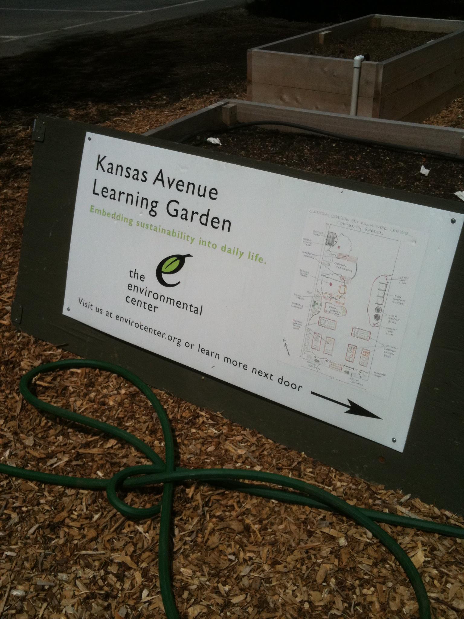 Enviro Center Community Garden Wiggling Around